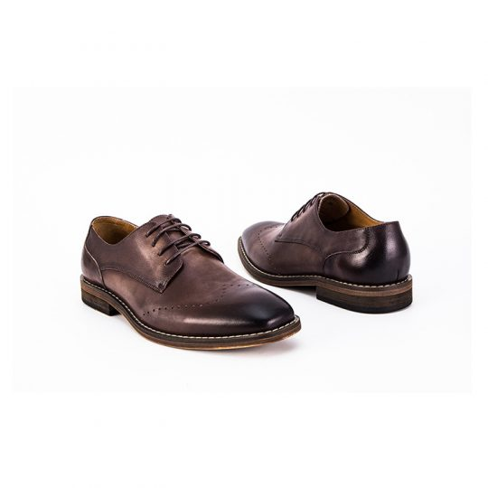 Brogue Simple Derby  - Brown