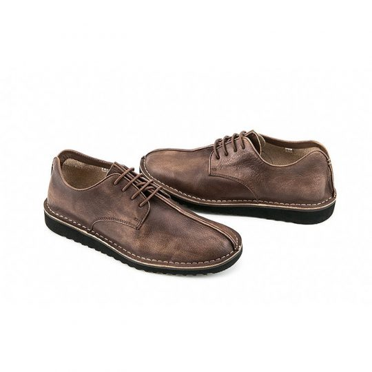 Split-Toe Derby - Firm Brown