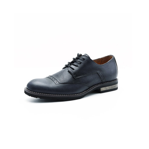 Brogue Semi Derby - Black
