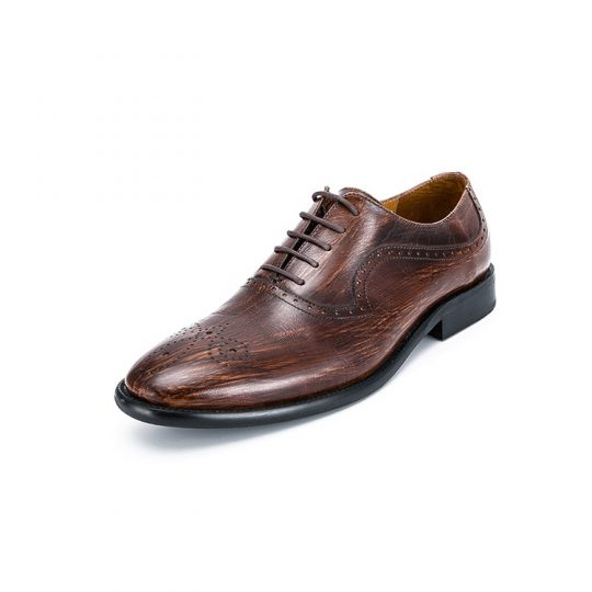 Medallion Brogue Oxford - Special Tree Brown