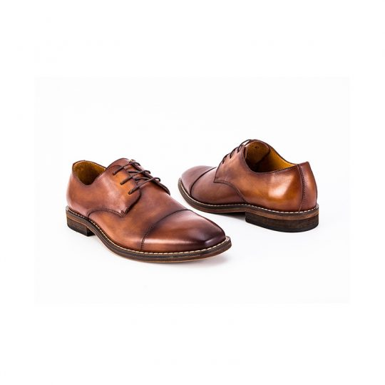 Classic Plain Derby  - Tan