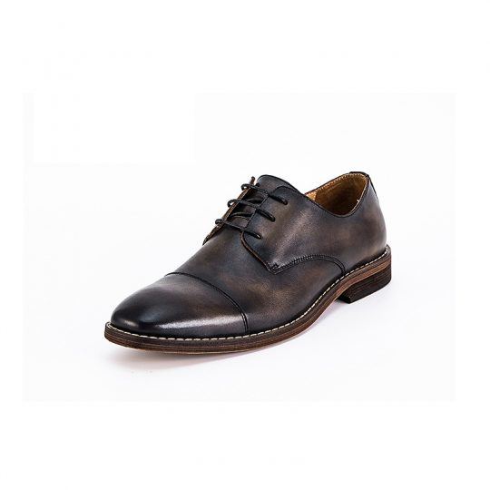 Classic Plain Derby  - Dark Black Brown