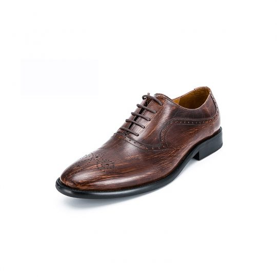 Medallion Brogue Oxford - Special Brown