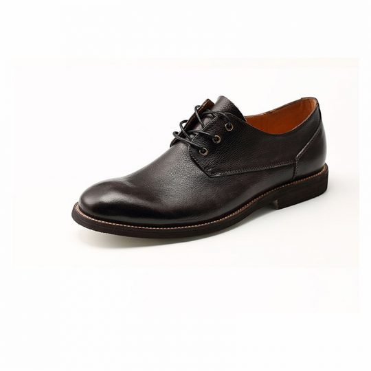 Plain Causal Semi Derby - Black Brown