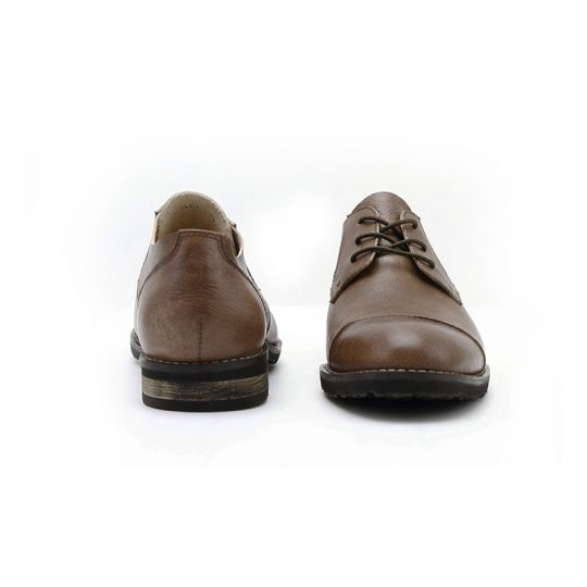 Plain Mikan Semi Derby - Vintage Brown